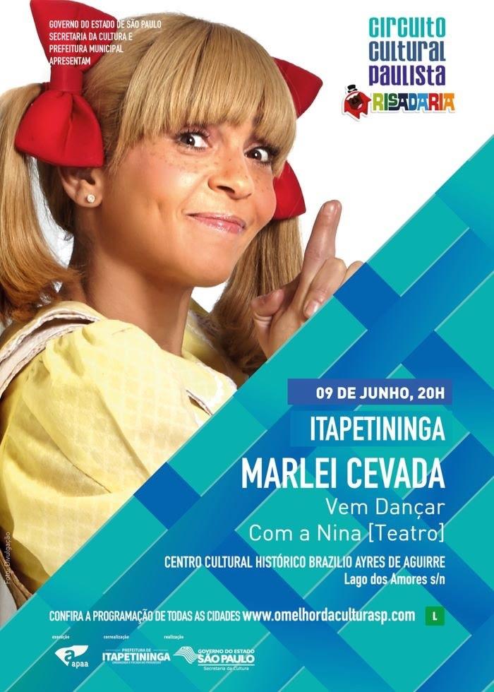 Humor, música e brincadeira é tema de um espetáculo no centro de Itapetininga neste sábado