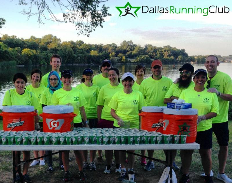 Water station for club race