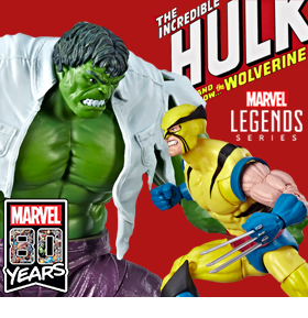 MARVEL COMICS 80TH ANNIVERSARY HULK VS. WOLVERINE TWO-PACK
