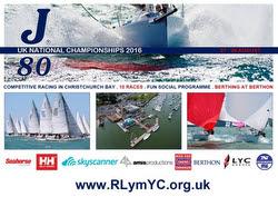 J80 UK Nationals- Lymington YC