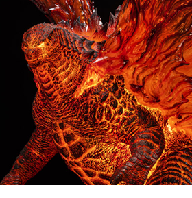 Godzilla: King of the Monsters Ultimate Masterline Battle in Boston Series Burning Godzilla Deluxe Limited Edition Statue