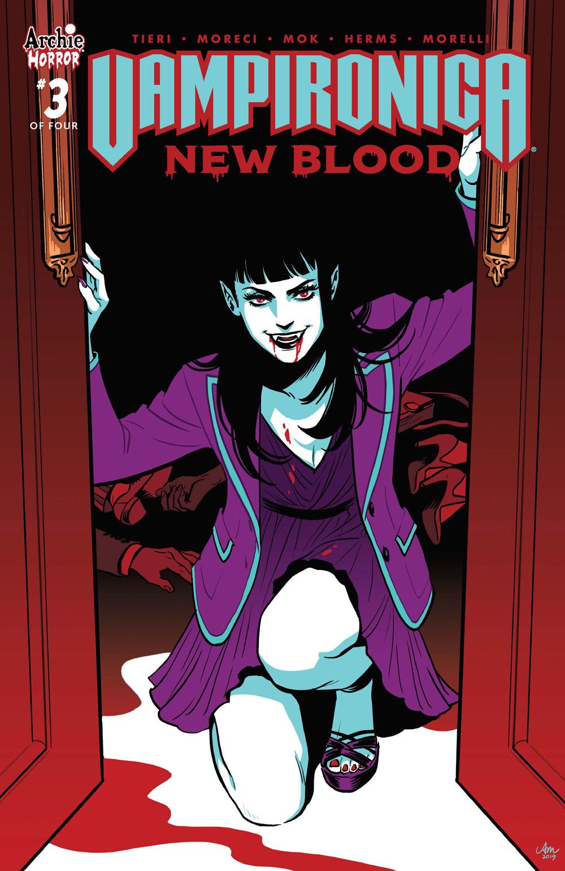 VAMPIRONICA: NEW BLOOD #3: CVR A Mok