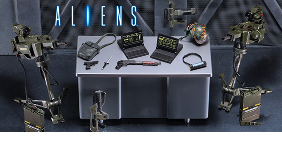 NECA ALIEN FIGURES & ACCESSORIES