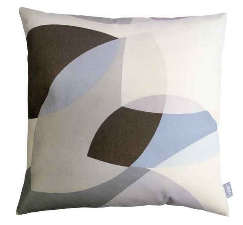 Rainy Day Square Cushion Lindsey Lang Design