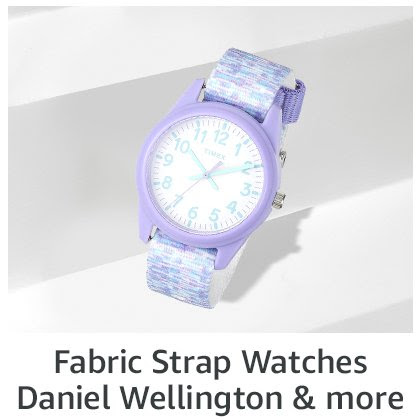 Fabric Strap Watches