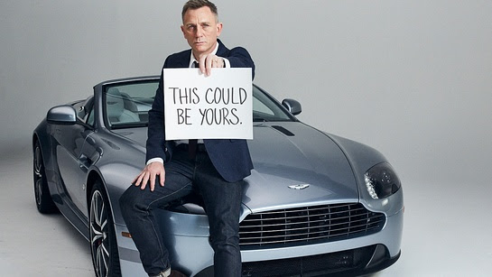 Meet Daniel Craig and Take Home an Aston Martin