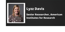 Meet the Researcher Lyzz Davis