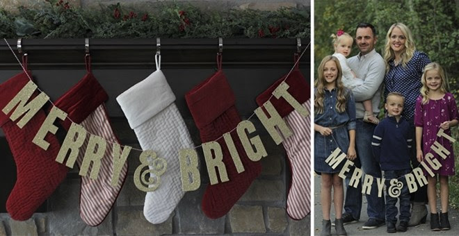 Holiday Glitter Banners + More...