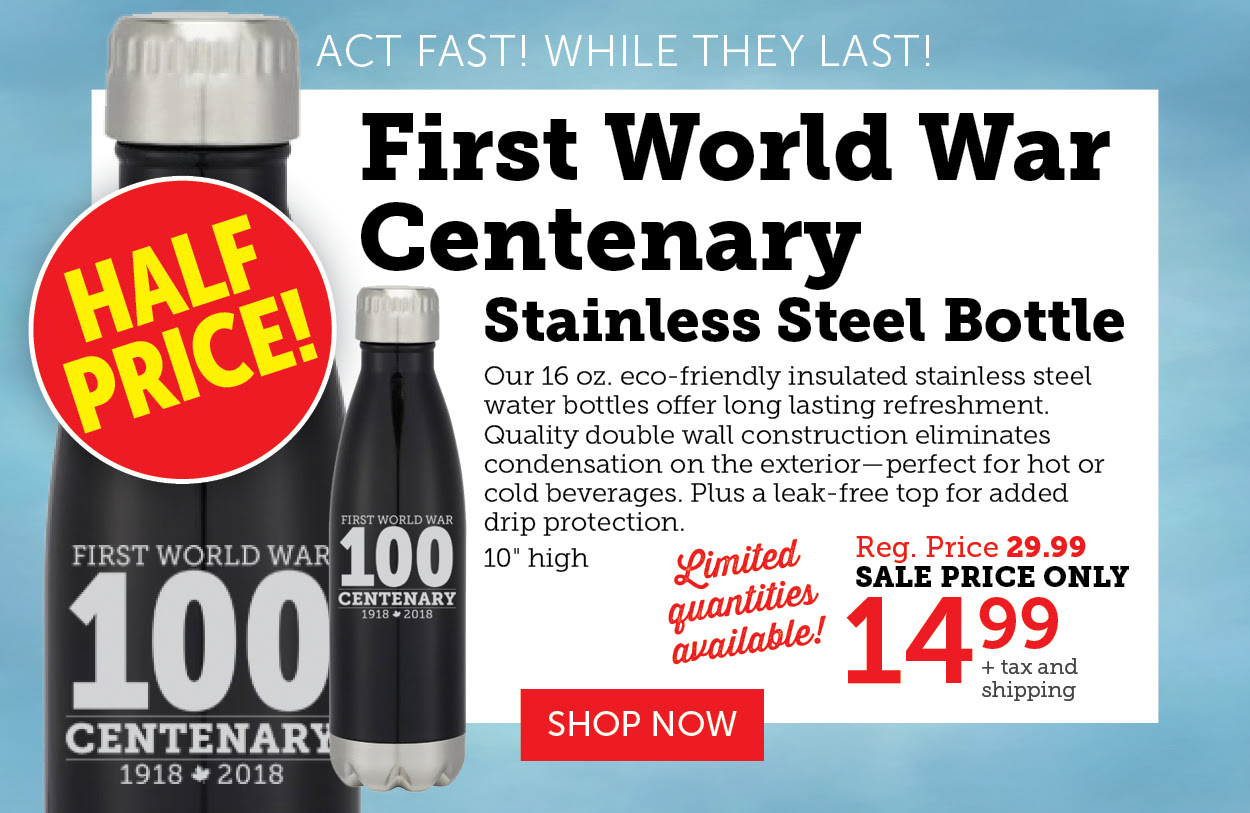 First World War - Stainless Steel Bottle
