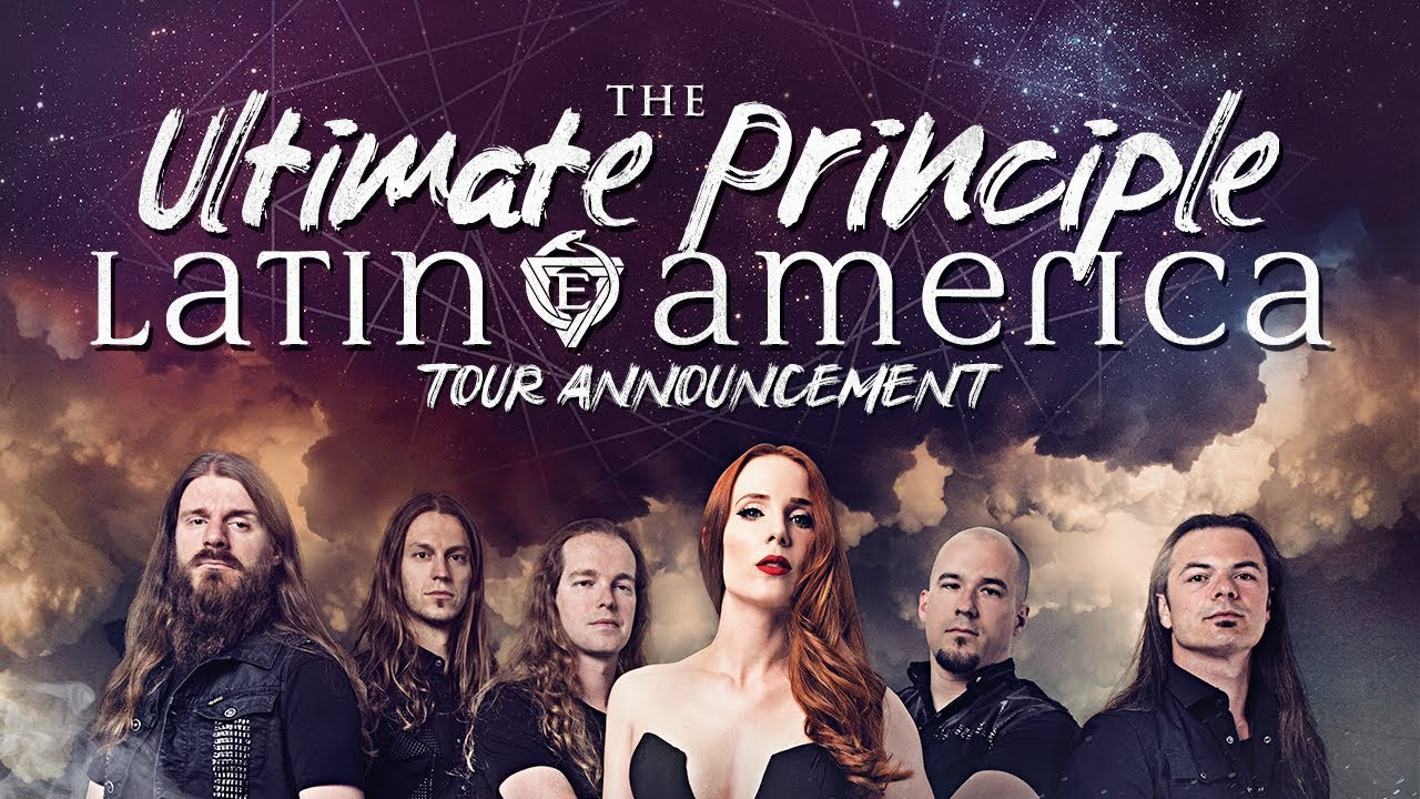 EPICA - The Ultimate Principle Tour - Latin America 2018 - Announcement Video (Simone + Mark)