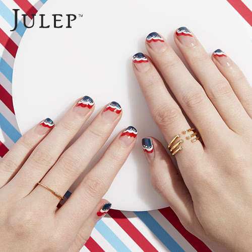 Flag Day Nail Art #3