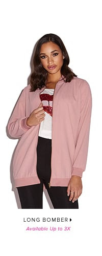 LONG BOMBER AVAILABLE UP TO 3X
