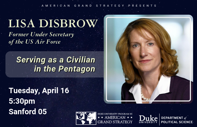 Lisa Disbrow, former acting Secretary of the Air Force as a Civilian @ The Pentagon @ Sanford 05
