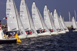 J/70 world championship in Newport, RI