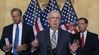 GOP blocks Senate infrastructure bill with eye on Monday redo