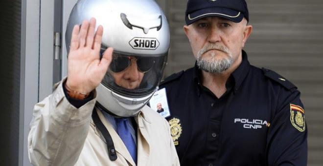 'Billy el Niño' sale de la Audiencia Nacional tras la vista de extradición Foto: GERARD JULIEN/ AFP