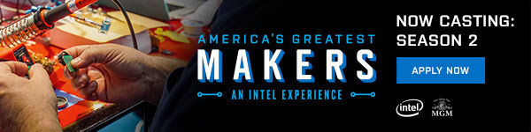 America's Greatest Makers - An Intel Experiance
