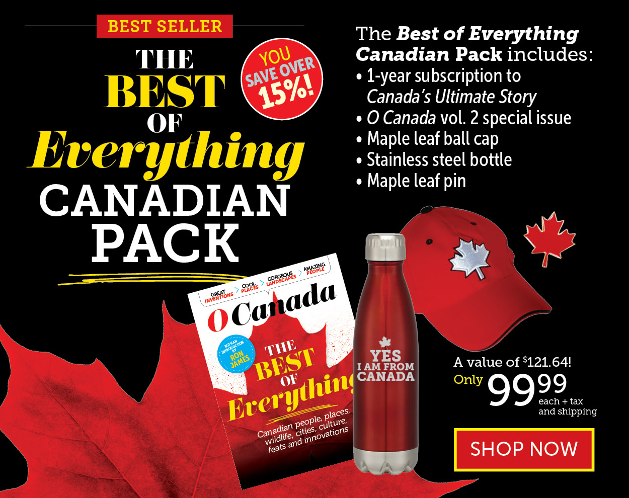 Best of Everything Canadian Pack!