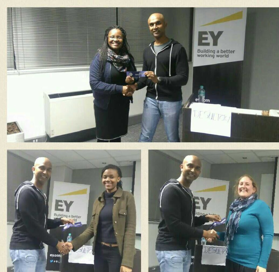 What you missed at  [EY Toastmasters]  in May 2016
