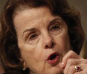 La presidenta del Comité de Inteligencia del Senado estadounidense, Dianne Feinstein,