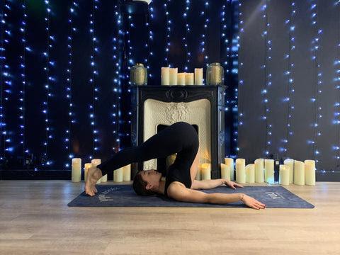 posture de yoga - la charrue