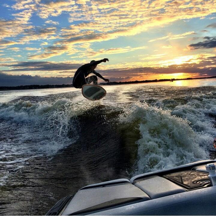 Wakesurf photo by Trevor Henson