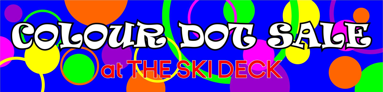Ski Deck Sale