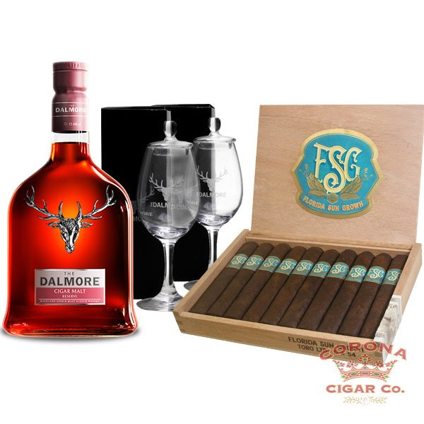 Image of The Dalmore Cigar Malt / FSG Tasting Package