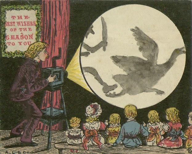 Một tấm thiệp Giáng sinh dành cho trẻ em rất... bạo lực.