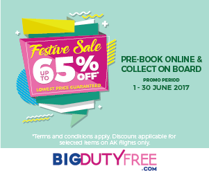BIG Duty Free - Pre-book online and collect on board