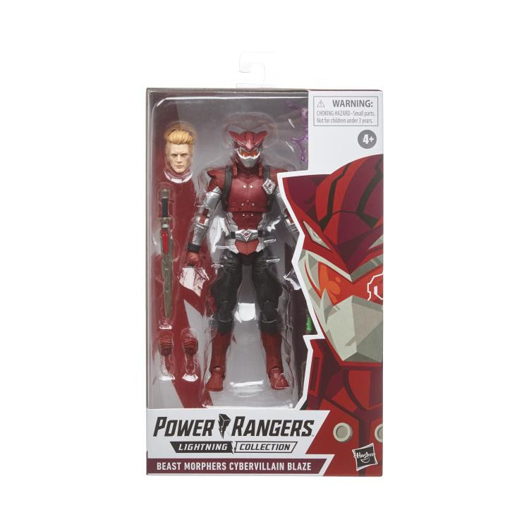 Image of Power Rangers Lightning Collection 6-Inch Figures Wave 4 - Cybervillain Blaze