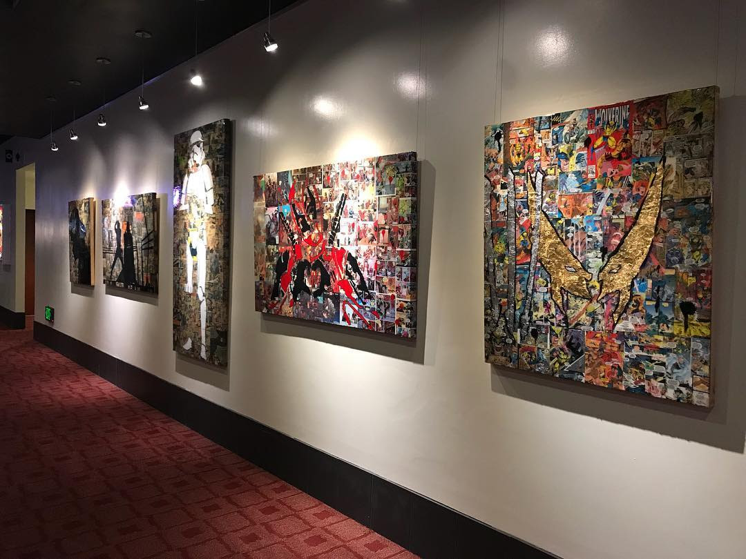 Nerdwalls - CCAC Art Auction 11-21-19