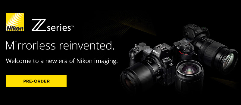 Announcing the New Nikon Z6 and Z7 Mirrorless Camera