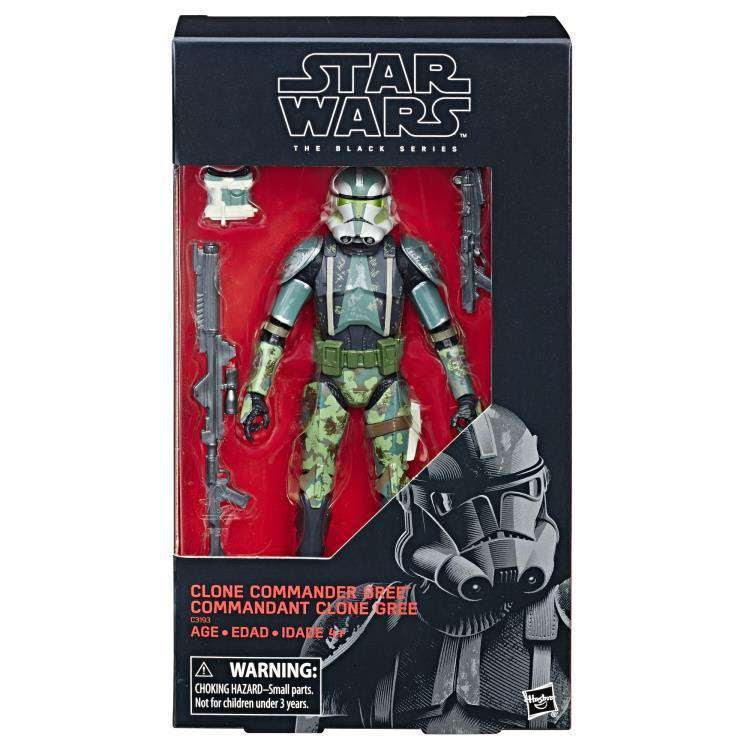 Image of Star Wars: The Black Series Clone Commander Gree (The Clone Wars) - BACKORDERED JANUARY 2020