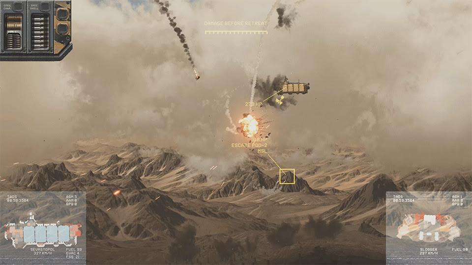 Highfleet Combat Scene