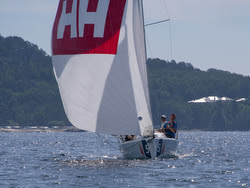 J/70 sailing Norwegian sailing league