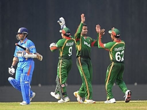 India and Bangladesh met in the opening match of the 2011 ICC World Cup.