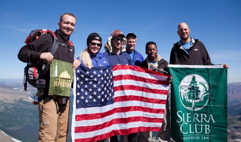 A peak experience with Sierra Club_s Military Outdoors Program.