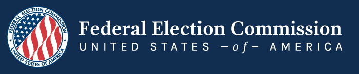 US Federal Elections Commission banner