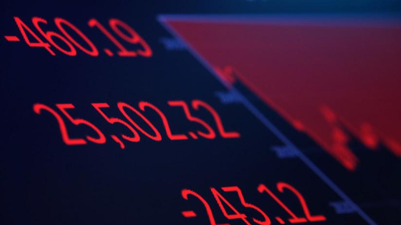 El Dow Jones pierde 700 puntos en medio de una escalada en la guerra comercial entre China y EE.UU.