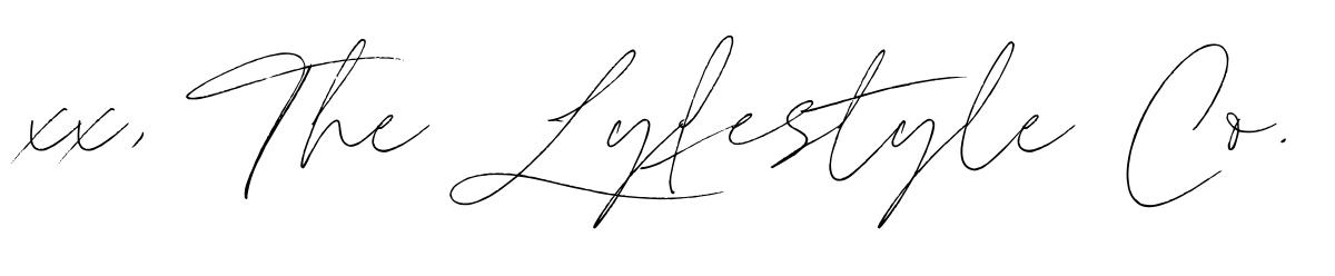 xx, The Lyfestyle Co.