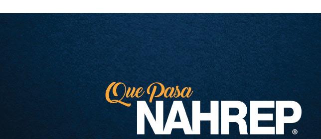 Que Pasa NAHREP Newsletter