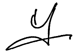 Ms. Fiona Ma Signature