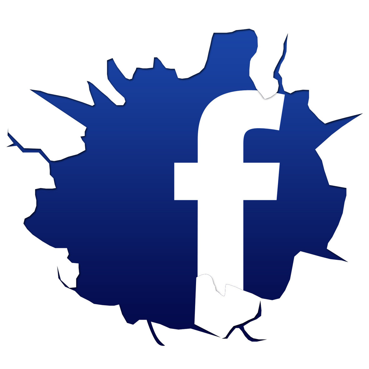 Cracked-FB-Logo