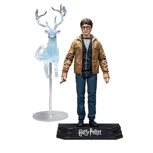 "Image of Harry Potter 7"" Action Figure Series 1 (Deathly Hallows) - Harry Potter"