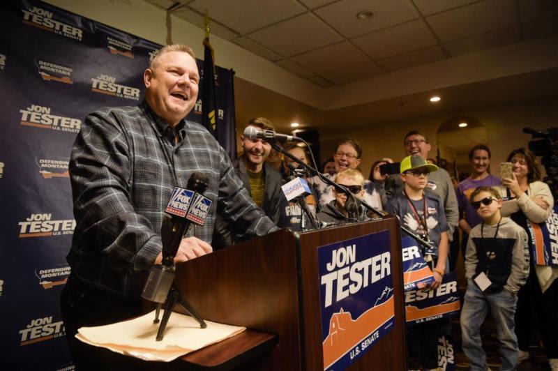Jon Tester wins