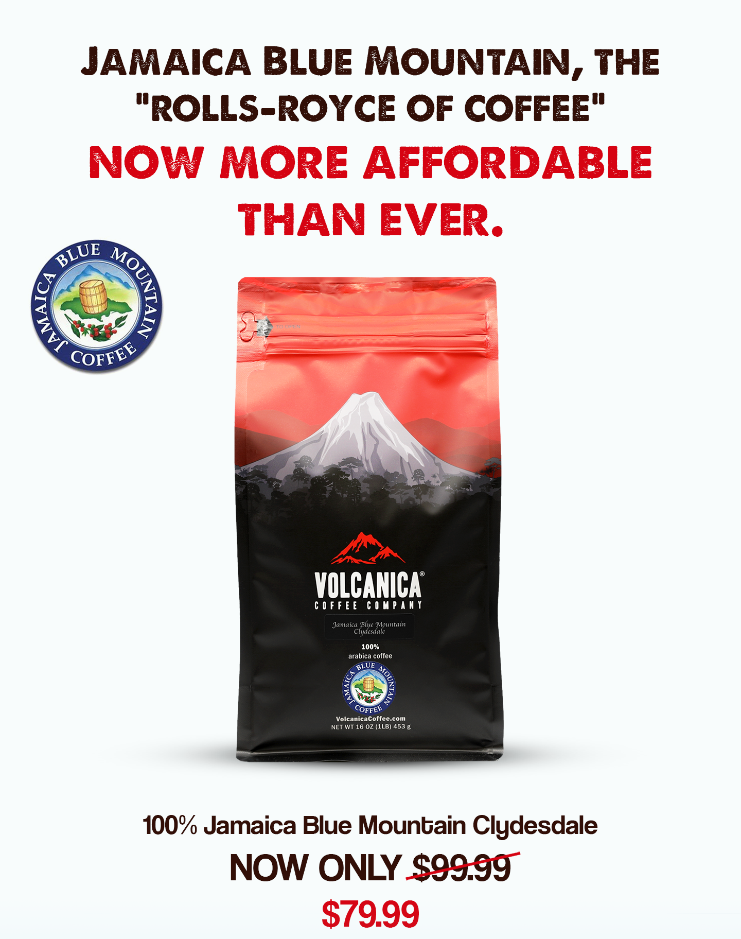$79.99 (reg $100) Volcanica Ja...