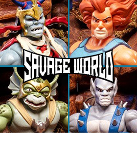 THUNDERCATS SAVAGE WORLD