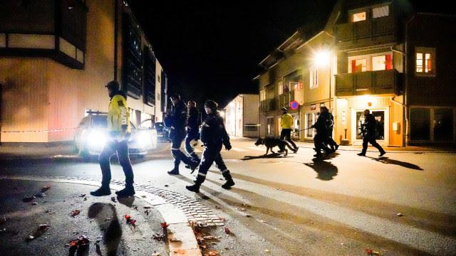 Ataque com arco e flecha na Noruega: Suspeito é dinamarquês, tem 37 anos