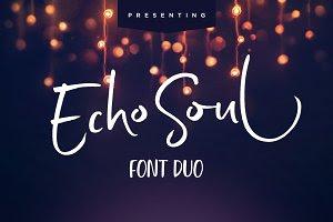 Echo Soul Font Duo